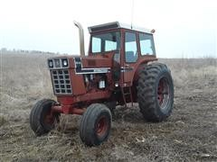 International 1566 2WD Tractor