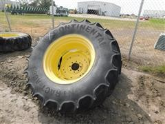 Continental 18.4R30 Tires On JD Rims