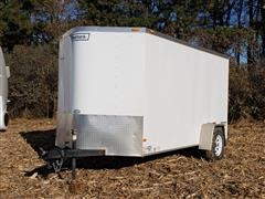 2015 Haulmark PPT6X12DS2 Enclosed Trailer