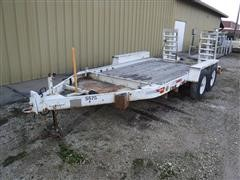 1987 Interstate 12' T/A Flatbed Trailer