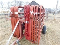 Farm Master Livestock Panels And Panel Cart