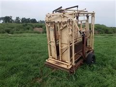For-Most 310-3000 Portable Squeeze Chute W/scale