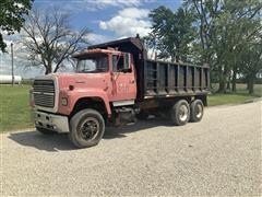 1987 Ford L8000 T/A Dump Truck