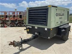 2014 Sullair 375 Portable Air Compressor
