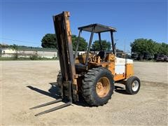 1986 Case 584C Rough Terrain 2WD Forklift