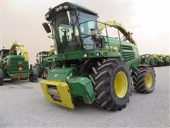 2008 John Deere 7550 Self-Propelled Forage Harvester