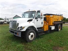 2010 International WorkStar 7400 S/A Asphalt Pothole Patcher Truck