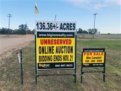 136.36+/- Acres Reno County, Kansas