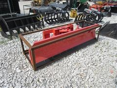 2016 TMG Industrial 7' Dozer Blade Skid Steer Attachment