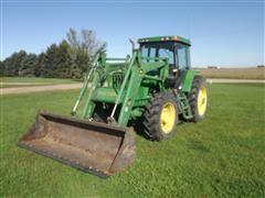 1998 John Deere 7210 MFWD Tractor w/740 Loader