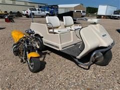 Harley Davidson AMF Golf Cart & Mini Bike