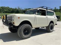 1974 International Scout II 4x4 2-Door Travel Top MPV