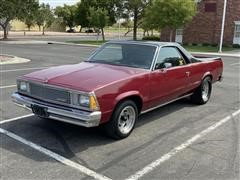 1981 Chevrolet El Camino 2 Door Pickup