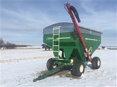 EZ Trail 500 Gravity Wagon W/Westfield Fill Hyd Auger