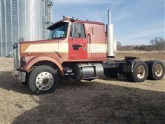 1984 Volvo White WIM64T T/A Truck Tractor