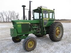 1969 John Deere 4520 2WD Tractor W/Cab And Clamp-on Duals