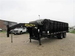 2010 Big Tex 25DU-20 Dual Wheel T/A Dump Trailer