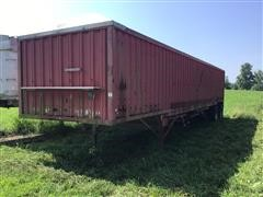 1979 Wilson GH-500 Hopper Bottom T/A Grain Trailer