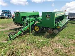 John Deere 455 Folding Grain Drill