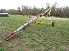 """Snowco 6006 Approx 43' X 6"""" 540 PTO Drive Auger On Wheels"""