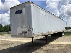 2001 Great Dane 53' T/A Box Trailer