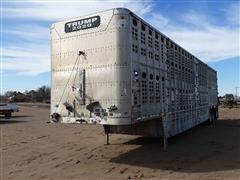 2003 Wilson PSDCL402 53' Tri/A Livestock Trailer