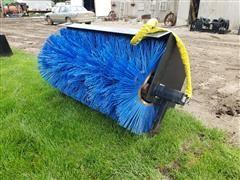2020 Mid-State Broom Skid Steer Attachment
