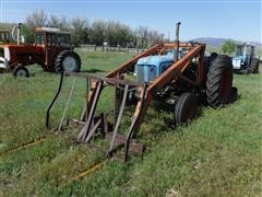 1958 Fordson Major 2WD Tractor W/Loader