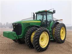 2004 John Deere 8420 MFWD Tractor