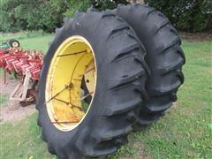 18.4-38 Bar Tires On Rims