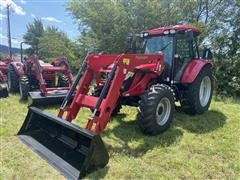 2018 Mahindra 9125S 4WD Compact Utility Tractor W/Loader