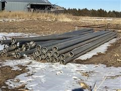 Irrigation Pipe With Risers