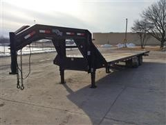 2010 Load Max T/A 30' Flatbed Trailer