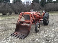 Allis-Chalmers D15 2WD Tractor W/Loader & Sickle Mower