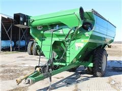 2013 J&M 1051-22D Grain Cart