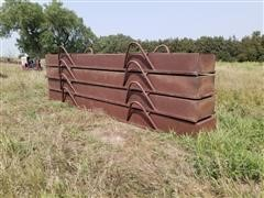 20' Steel Feed Bunks