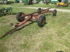 Shop Built Header Trailer On Kewanee Running Gear