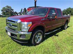 2015 Ford F250 XLT 4x4 Crew Cab ShortBed Pickup