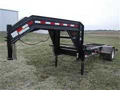2011 Lamar 15' S/A Frame & Chassis Trailer