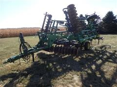 "2003 John Deere 726 21' 9"" Mulch Finisher W/5 Bar Harrow"