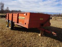 Farmhand 14'X6' Single Beater Manure Spreader