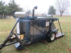 Bei Blueberry Harvester w/ Hydraulic Lift