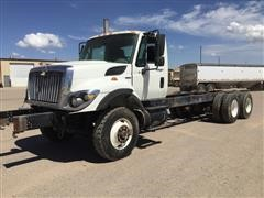 2008 International 7400 SBA T/A Cab & Chassis