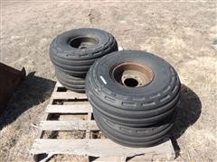 9.00-10 Tires On Rims