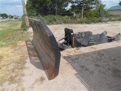 Grouser FH-400 W/2100 Dozer Blade Attachment