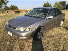 2000 Toyota Corolla LE 4-Door Car