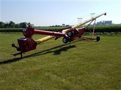 Westfield MK100-63 Grain Auger W/Power Hopper