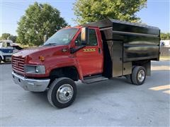 2005 GMC C5500 4WD Dump Truck