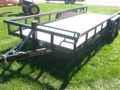 2016 Tiger Flatbed BH Trailer