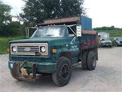 1981 Chevrolet 60 S/A Dump Truck